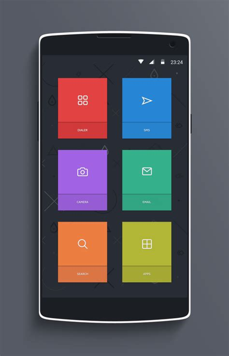 best android home screen designs 15 android iphone homescreens lockscreens android