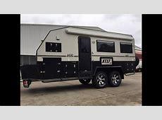 MDC XT17-HRT (Hard Roof Tandom Axle) Offroad Caravan on ... 25 Foot Camper