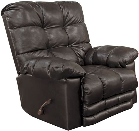 chocolate leather recliner piazza chocolate leather recliner from catnapper coleman