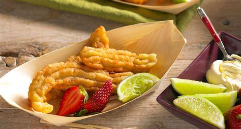 tropical banana fritters recipe  homes  gardens