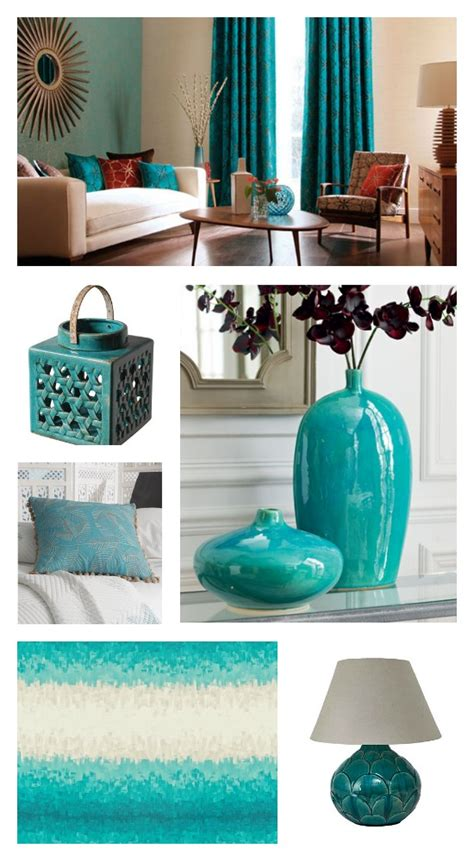 home decor with turquoise essential colour turquoise