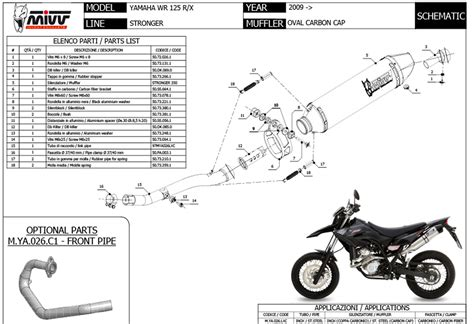 yamaha wr 125 x arrow wiring diagrams repair wiring scheme