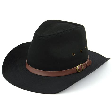 stetson hat hawkins black beige cowboy brim western mens