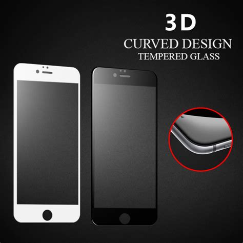 Iphone 6 Plus 55 3d Gold Tempered Glass 9h anti broken for apple iphone 6s 3d curved tempered