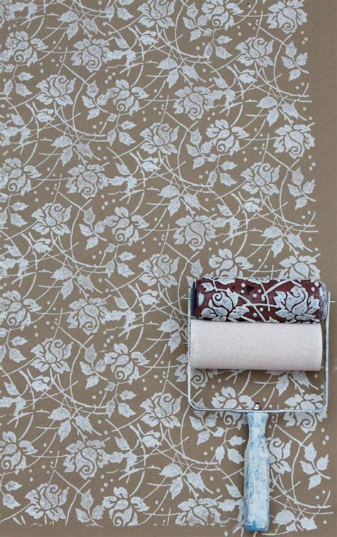 wallpaper paint roller 25 best ideas about patterned paint rollers on