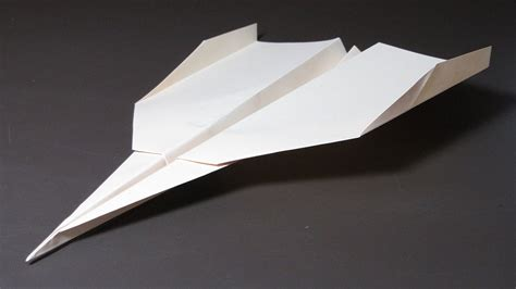 A Paper Jet - how to make a paper airplane that flies far strike eagle