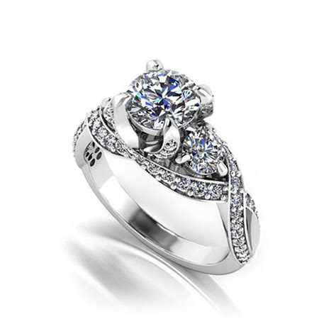 luxury engagement ring designers three designer engagement ring jewelry designs