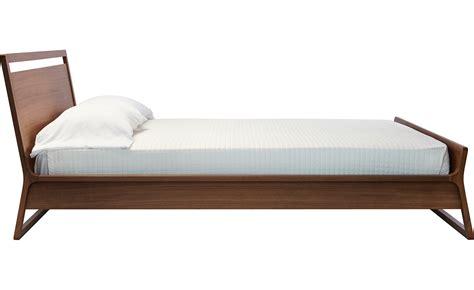 blu dot bed woodrow bed hivemodern com