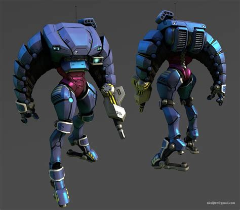 Armor Iron Robot Motorola E3 mech armor suit lowpoly posed by pyroxene on deviantart