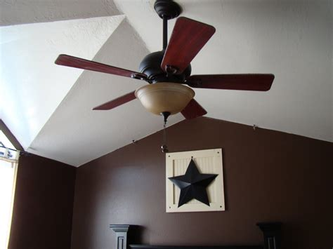 ceiling fan for slanted ceiling guide on how to install ceiling fan on vaulted ceiling