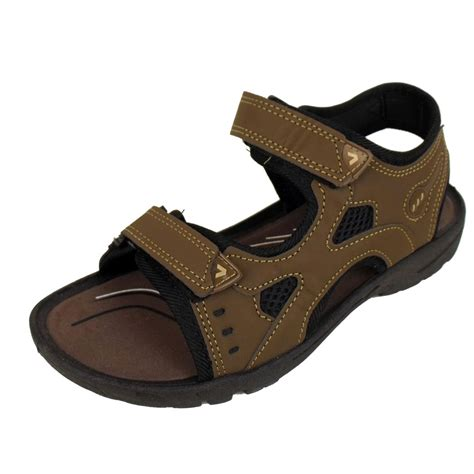 trek sandals mens velcro sports sandal walking hiking trek