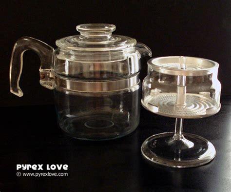 Flameware Coffee Percolator w/ Large Handle : Pyrex Love