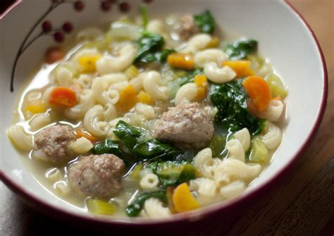 Italian Wedding Soup Has Nothing To Do With Actual