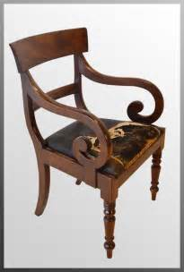 Scroll Arm Chair Design Ideas Regency Armchair Chair Scroll Arm Antiques Atlas
