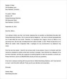 Resignation Letter With 2 Weeks Notice by Two Weeks Notice Letter 31 Free Word Pdf Documents Free Premium Templates