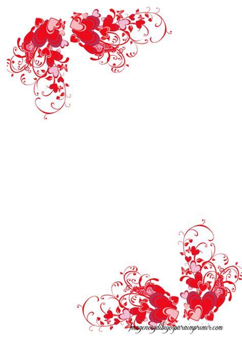 margenes de hojas decoradas apexwallpapers com hojas con corazones para imprimir