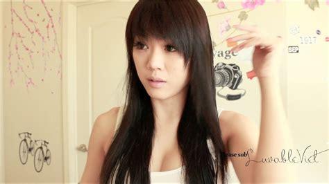 hairstyles bangs youtube bang hairstyle tutorial bangs haircut step by step youtube