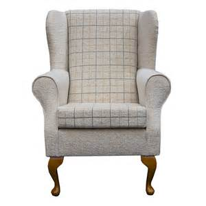 Small Wingback Chairs Design Ideas Wing Back Fireside Armchair Small Westoe Orthopaedic In A Maida Vale Check Ebay