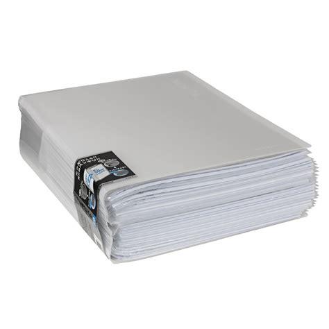 Kokuyo Novita Clearbook P N20 kokuyo display book a4 novita 40 pocket clear officeworks