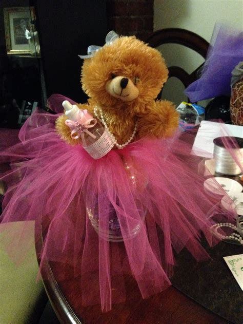teddy baby shower centerpieces teddy baby shower centerpieces quot tutu quot theme