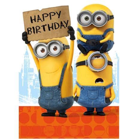 imagenes de minions happy birthday happy birthday sign minions card compartirvideos