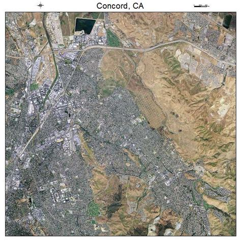Concord Ca by Aerial Photography Map Of Concord Ca California