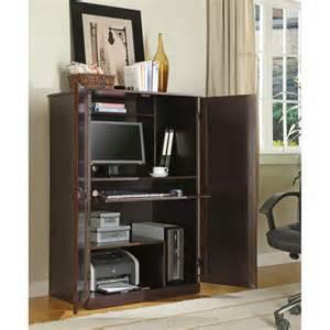 innovex aspen computer desk armoire walmart