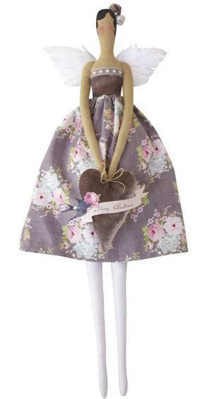 tilda vintage doll angel kit  tone finnanger tilda