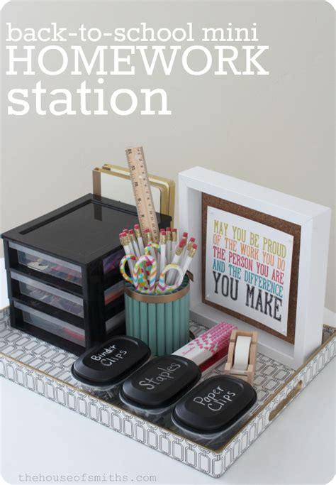 homework station mini homework station krylon mystery box challenge