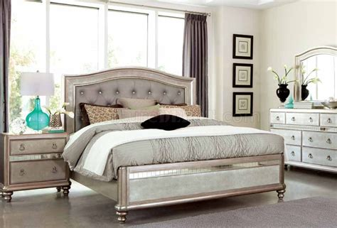 rooms furniture bling 204181 bedroom by coaster w options