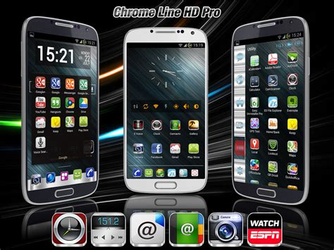 chrome for android 2 3 apk chrome line pro icon pack v1 7 5 apk juegos y aplicaciones para android