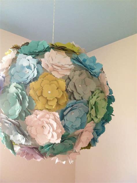 How To Make Flower Paper Lanterns - diy paper flower lantern paper lantern