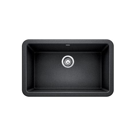 granite composite sinks reviews blanco dual mount granite 33 in 1 hole single