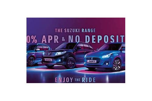 0 apr car deals no deposit