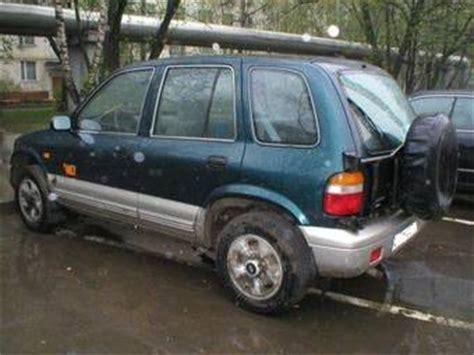 1998 Kia Sorento 1998 Kia Sportage Pictures 2 0l Gasoline Automatic For