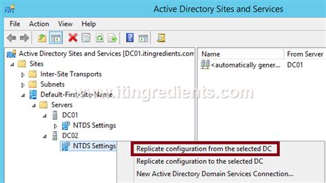 check ad replication  domain controllers