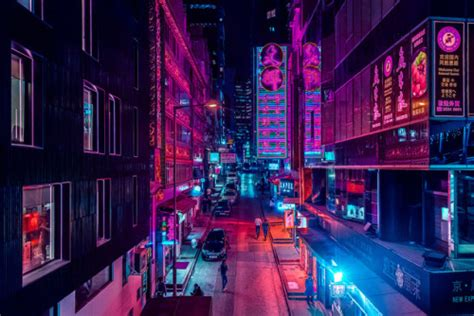 a real world cyberpunk bedroom how accustomed we ve neon city lights tumblr