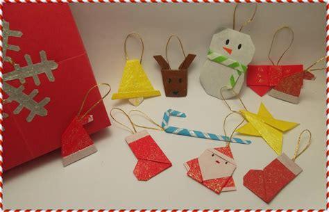 Origami Natal - kit enfeites de natal de origami 2 omura elo7