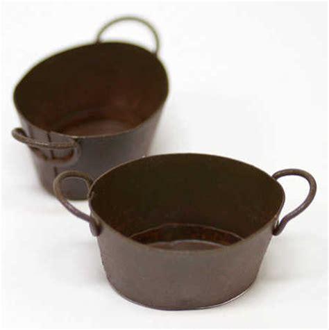 Sale Shower Set 2604 dollhouse miniature rustic metal tubs tin