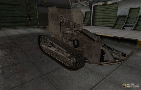 french renault french skin for renault ft ac for world of tanks