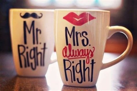 Humorous Couple Coffee Cups : Couple Mugs