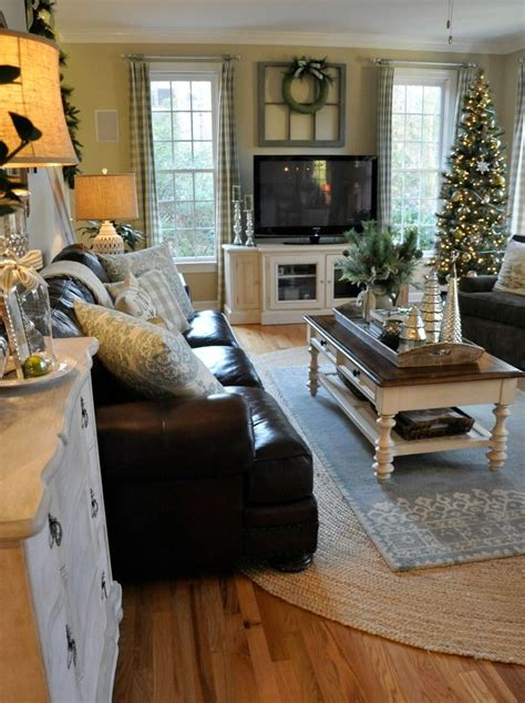 country cottage living room decor