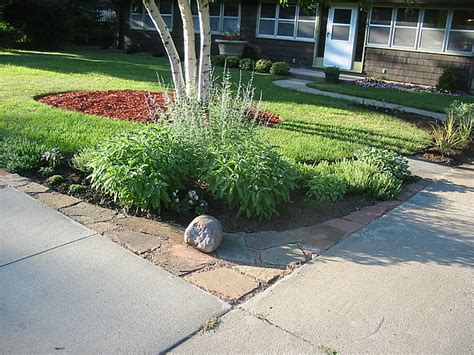 front yard driveway driveways on grass carriage doors and