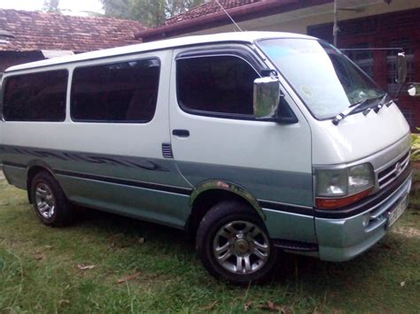 Lk Cars by Toyota Vans Ikman Lk Car Picture Update