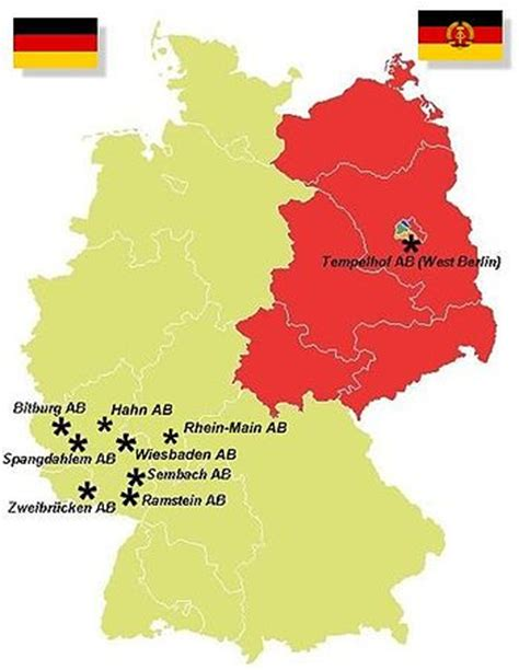 map usaf bases united states air in germany wikis the wiki