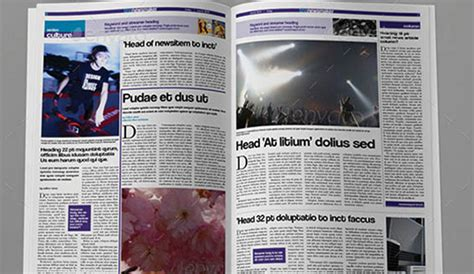 6 Free Indesign Newspaper Templates Af Templates Indesign Newspaper Template Free