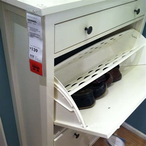 Shoe Cabinet With Doors Ikea Ikea Hemnes Shoe Cabinet With 4 Compartments For The Home Pinterest Shoe Cabinet Hemnes