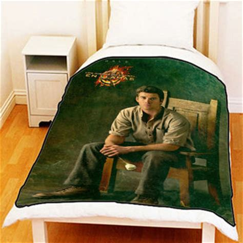 hunger games comforter set the hunger games catching fire gale from bedzzzzzshop on etsy