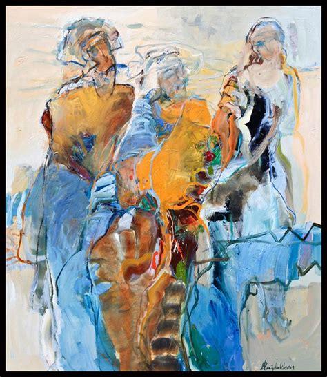 moderne figuren bernadette leijdekkers figuren modern painting