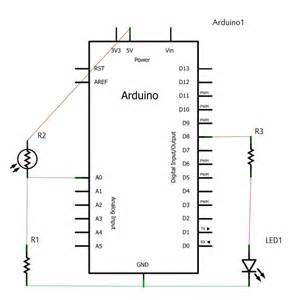 ldr pada resistor rangkaian ldr dengan arduino celulux z site